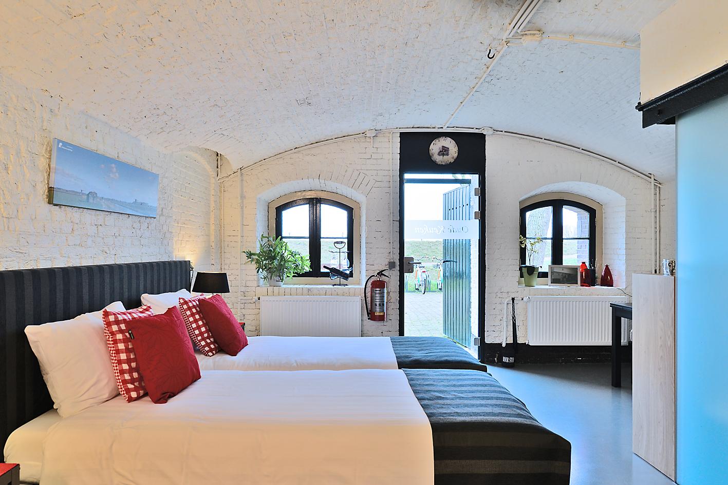 Bed & Breakfast in einem Fort!