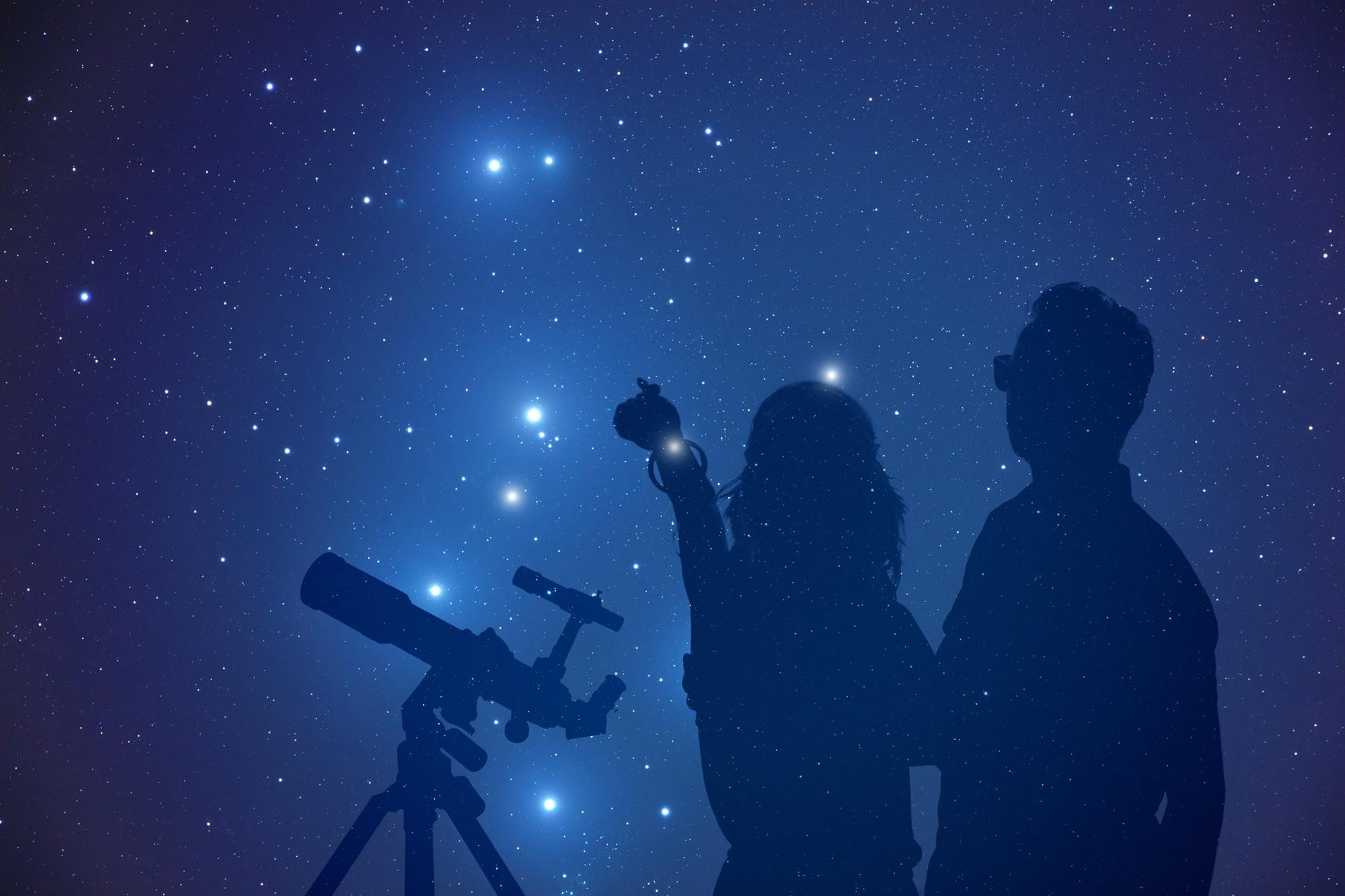 Himmlisch genießen unter dem Sternenhimmel!