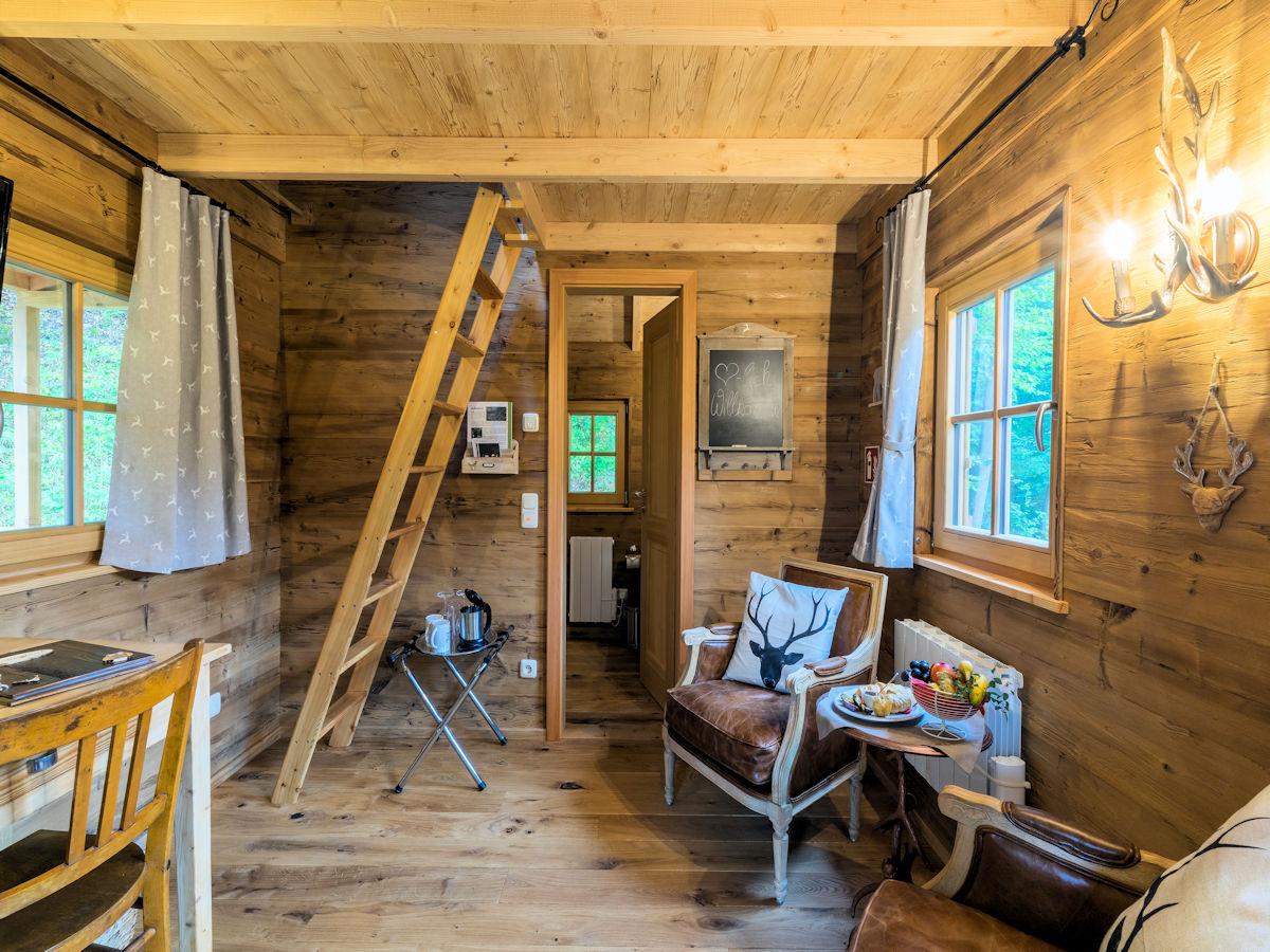 Übernachten in einem luxeriösen Baumhaus